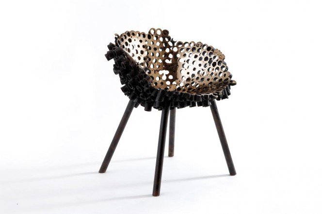 Chaise Meltdown Bronze #1