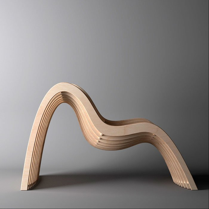Nurbs chair